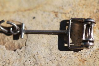 STERLING SILVER HAND PUSH CYLINDER (REEL) MOWER CHARM FOR BRACELET