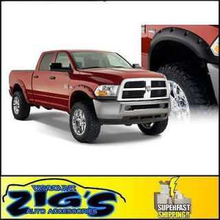 Bushwacker Pocket Style Fender Flares for 2010 2012 Dodge Ram 2500
