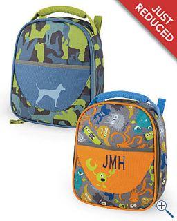 Garnet Hill Camo Dog Lunch School Bag Box Backpack