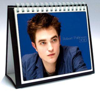 ROBERT PATTINSON 2013 Desktop Holiday Calendar TWILIGHT Edward Cullen