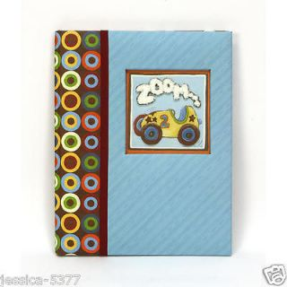 Zoom Zoom Baby Memory Book by CR Gibson Baby boy