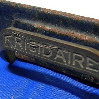 VTG Frigidaire refrigerator/f reezer metal food tray parts enamelware