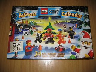 Brand New & Sealed Lego City Advent Calendar 7687