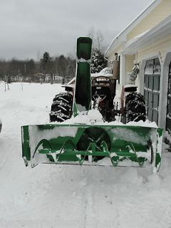 Blower Snowblower Model SB68EC 6 ft Wide Kubota John Deere Tractor