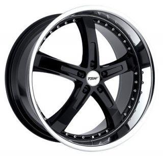 17x8 TSW Jarama Black Wheel/Rim(s) 5x114.3 5 114.3 5x4.5 17 8