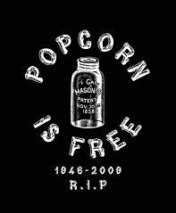Popcorn is Free Long Sleeve T Shirt, Popcorn Sutton Moonshine