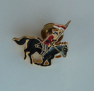 RCMP Royal Canadian Mounted Police lapel pin   hat badge   1/2 inch