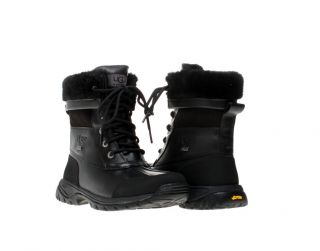 UGG Kids Unisex Butte Black Winter Snow Boots 5209