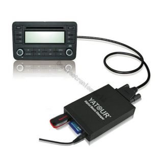 Car Digital CD Music Changer USB AUX SD  Adapter for Aftermarket