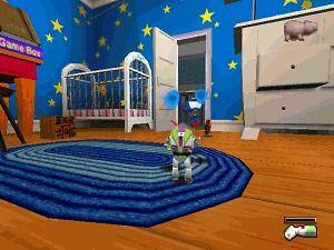 TOY STORY 2 BUZZ LIGHTYEAR   NINTENDO N64 Disney Game