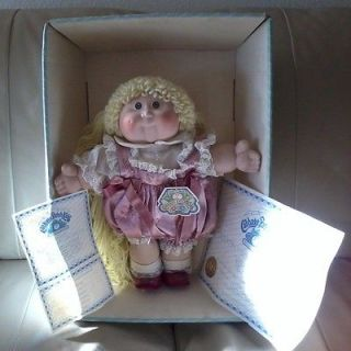 Vintage 1985 Porcelain Georgia Dee Cabbage Patch Kid Made In Taiwan