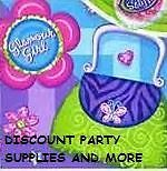 Glamour Girl Dessert Napkins Party Supplies