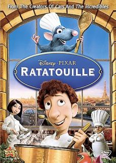 Brand New Pixar Disney Ratatouille DVD In Shrink Wrap With Slip Cover