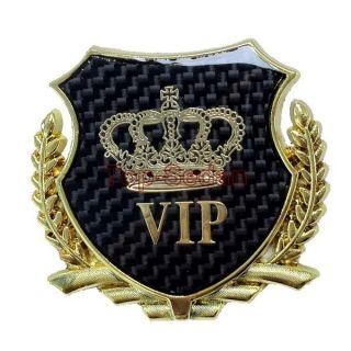 Badge Emblem Sticker 3D VIP Carbon Fiber TRD Motor Sport Camry Carola