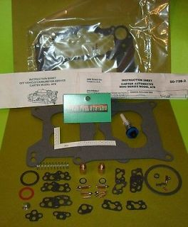 CARTER AFB CARBURETOR REBUILD KIT FOR MODERN FUELS 9502 9503 9504 9635