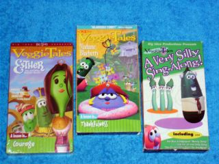 VEGGIE TALES VIDEOS   VHS   ESTHER THE GIRL WHO BECAME QUEEN +