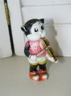 Vintage Bimbo the Cat Figurine Made in Japan from Betty Boop 7223