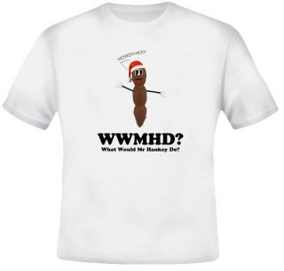 What Would Mr Hankey Do South Park T Shirt