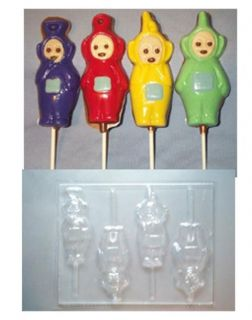 TELETUBBIES CHOCOLATE CANDY MOLD MOLDS PARTY FAVORS