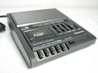 fb 5) Panasonic RR 930 Dictaphone Micro Cassette Tape Recorder Player