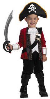 El Capitan Pirate Child Toddler Halloween Costume