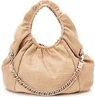 New   1,035.00 BE & D Beige Cosette Croc Embossed Leather Large Hobo