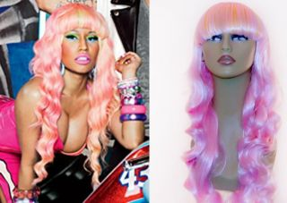 Nicki Minaj in Wigs, Extensions & Supplies