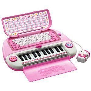 Hello Kitty Computer piano Karaoke NEW from Japan