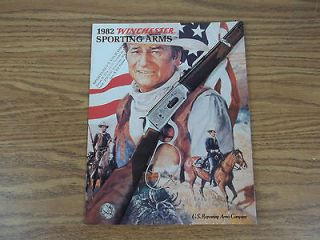 1982 Winchester Sporting Arms Catalog John Wayne Commemorative Rifle