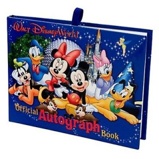 Disney World Official Autograph Book, NEW GIFTWRAPPED