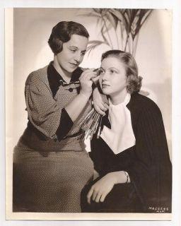 Cecilia Parker 10x7.5 Lillian Rosine makieup 1936