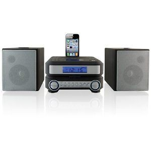 NEW 2012 iLive Shelf Compact CD Player Stereo Home Music System iPhone