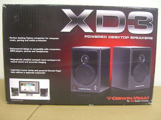 Cerwin Vega   2.0 Powered Desktop Speaker (2 Piece) Cerwin Vega XD3 NA