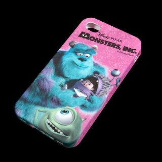 Disney Monsters Inc Sully Mike Wazowski Boo Silicone Soft Back Case 4