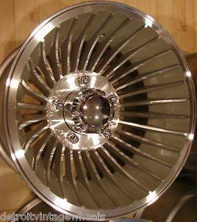 15x10 Western Wheels Cyclone Aluminum 5x5.5 Rims Ford Bronco F100 F150