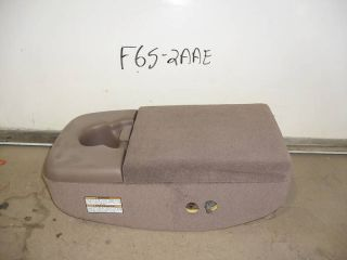 NEW OEM ARM REST CONSOLE ARMREST 97 F150 FORD TRUCK NOS