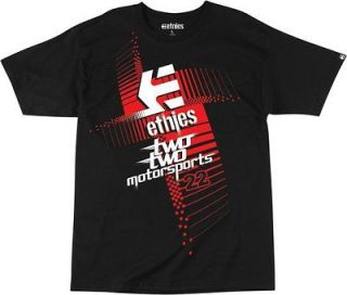 NEW 2013 MENS ETNIES WARSAW CHAD REED TWO TWO SHORT SLEEVE TEE COLOR
