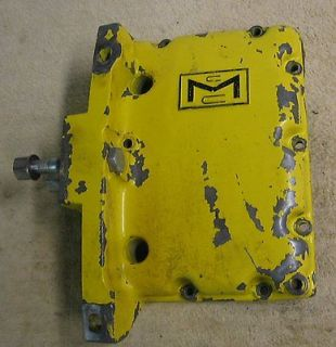 Vtg McCulloch 660 Gear Drive Chainsaw Bar Mount Gas Fuel Tank Front