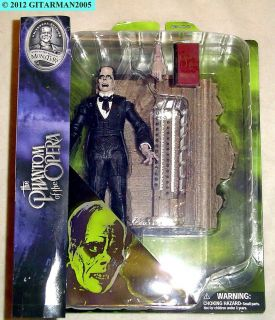 PHANTOM OF THE OPERA ACTION FIGURE  LON CHANEY   NIB! FREE DOM. S&H
