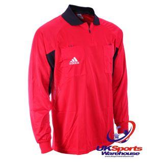 Adidas Climacool Ruby Red Referee Shirt / Jersey (Medium) rrp£40