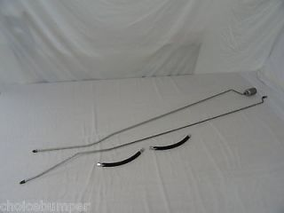 Chevy K1500 Pickup Truck Fuel Line Kit Rear Extended Cab 8ft Bed 4WD