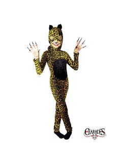 Kids Female Cheetah Cat Costume