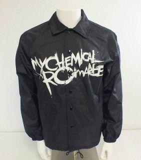 Auburn Sport My Chemical Romance Black Windbreaker Jacket US Mens