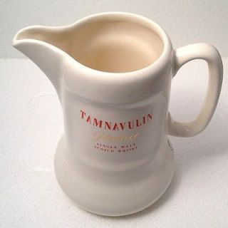 TAMNAVULIN Scotch Whisky Ceramic Water Pitcher/jug