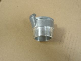 QC FORESTRY FIRE HOSE ADAPTER 1 1/2 ALUMINUM QUARTER TURN USA
