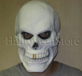 Gold Tooth Skull Adult Mask by Cesar