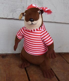 13 Gray & Brown FERRET Plush FIESTA Toys Soft Stuffed Animal B152