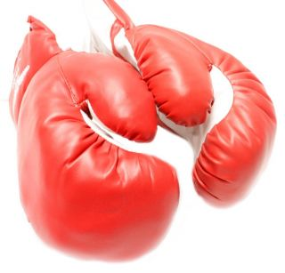 Newly listed 1 Pair Red Youth 8oz Kids Boxing Gloves Punching Gloves