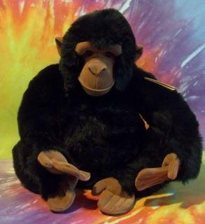 GANZ Heritage Collection CHARLIE CHIMP Chimpanzee Monkey Plush RARE