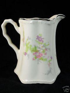 1930s Depression Era Crooksville China Spring Blossom Floral Creamer